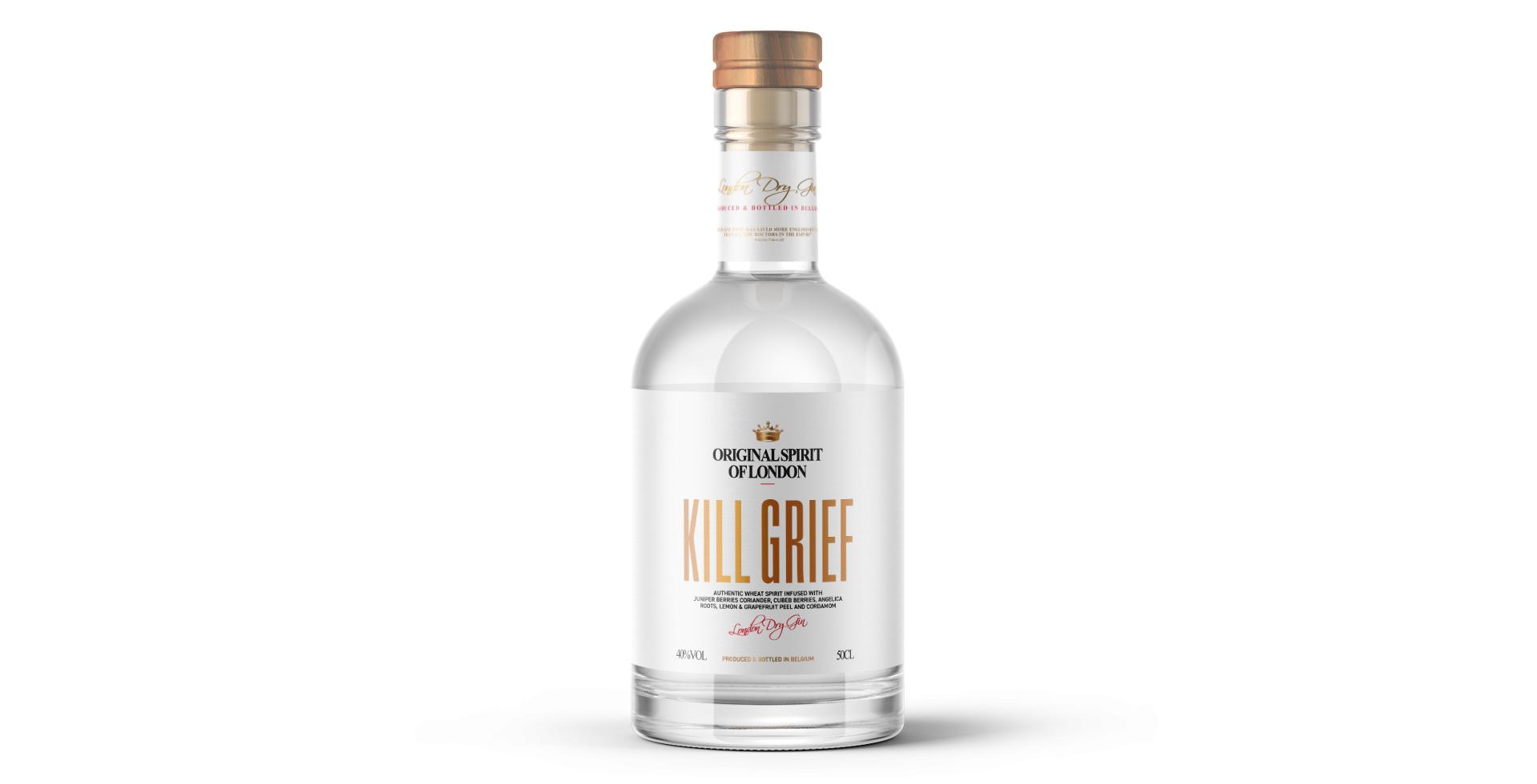 Kill Grief Bottle Design